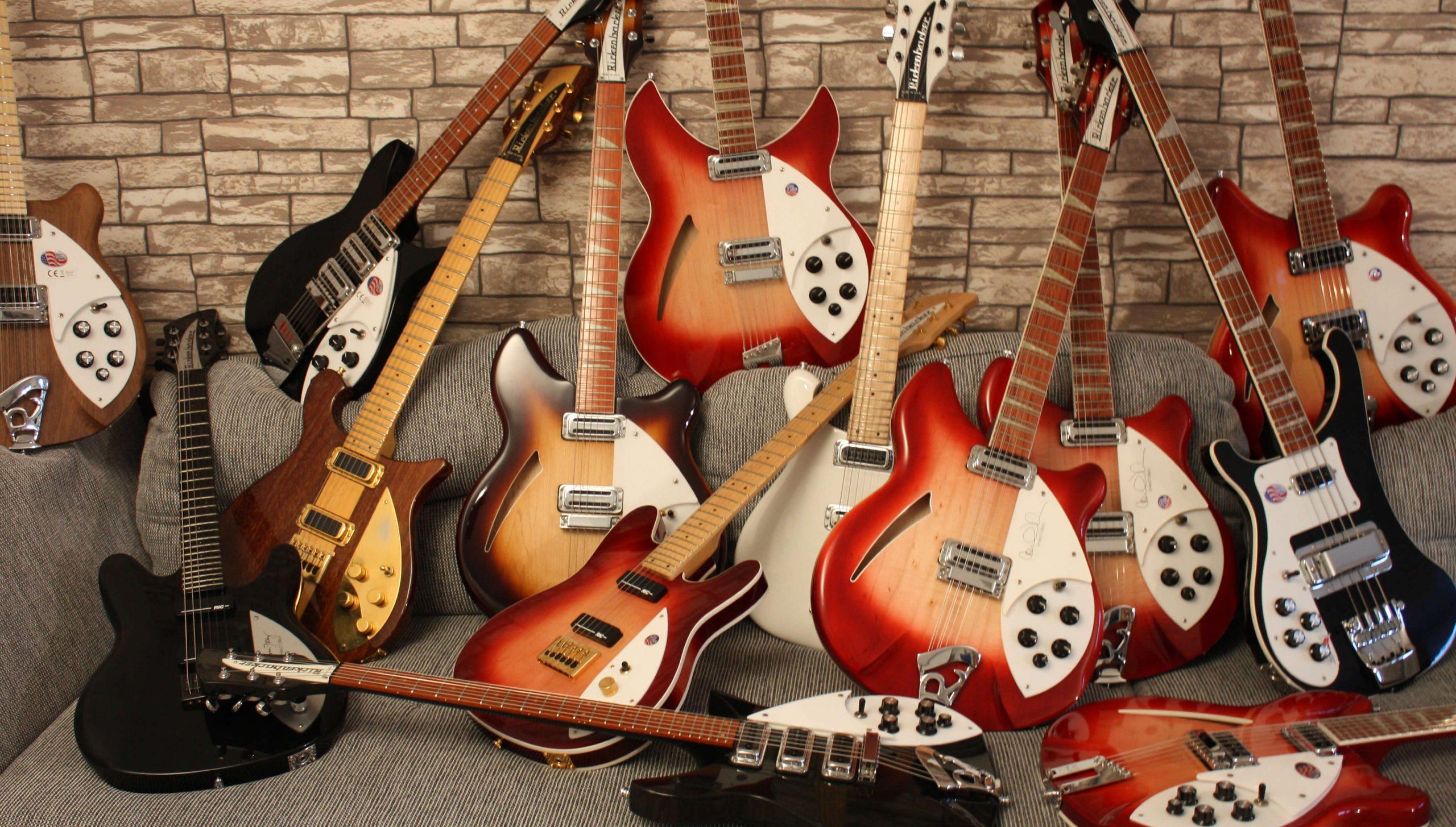 Rickenbacker Gitarren & Bässe