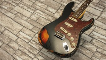 Fender Stratocaster 60's Custom Shop Limited Relic Black 2016 Namm