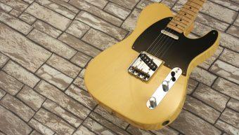 Fender Telecaster Nocaster 1951 Butterscotch Custom Shop 2001 NOS