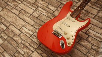 Fender Stratocaster 1962 Fiesta Red Reissue Vintage Series 1986-1987