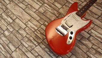 Fender Jag-Stang Fiesta Red Kurt Cobain 2002-2004