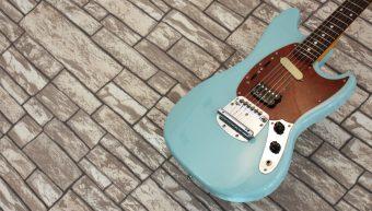 Fender Mustang Sonic Blue 1995