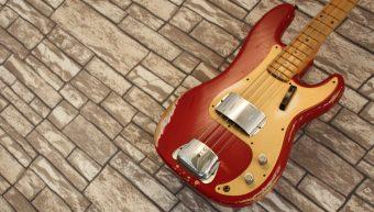 Fender Precision Bass 57 Heavy Relic Custom Shop 2014