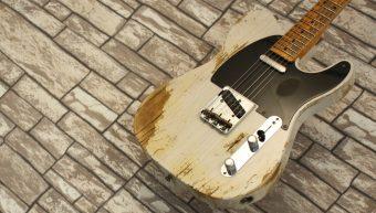 Fender Telecaster 52 Custom Shop Heavy Relic Transparent Vintage Blonde 2018