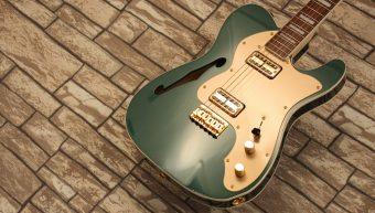 Fender Telecaster Thinline Super Deluxe Sherwood Green 2020