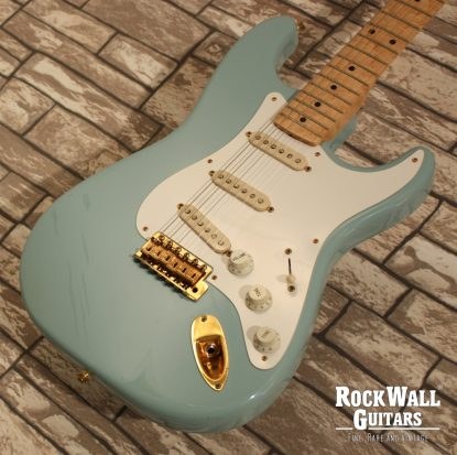 fender stratocaster 1958 custom shop daphne blue 1997 rockwall guitars fine rare vintage. Black Bedroom Furniture Sets. Home Design Ideas