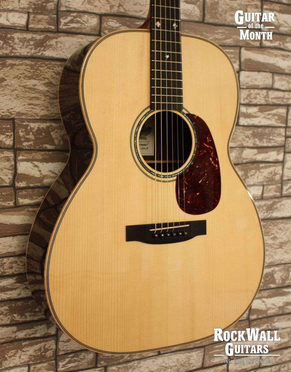 Froggy Bottom B 12 Deluxe Natural 2013 Rockwall Guitars Fine