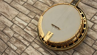 Gibson RB-6 Gold Sparkle Mastertone Resonator Banjo