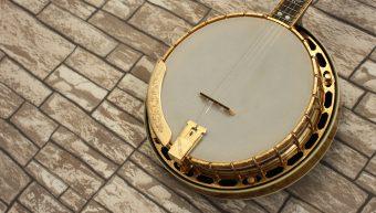 Gibson RB-6 Gold Sparkle Mastertone Resonator Banjo
