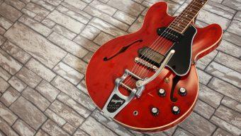 Gibson ES-330 VOS Vintage Cherry Bigsby 2012