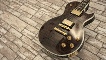 Gibson Les Paul Supreme Translucent Ebony 2013