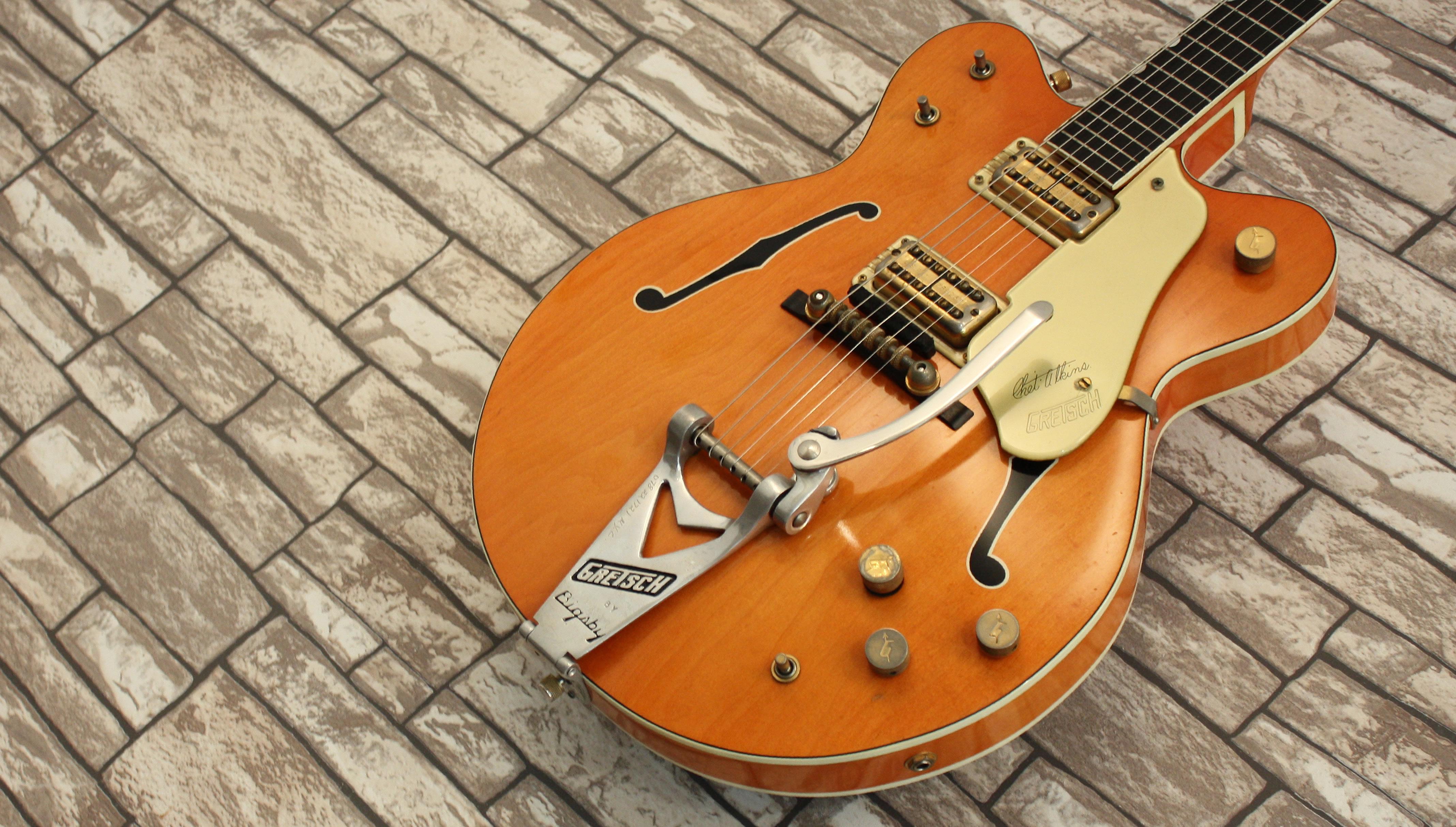 Gretsch 6120 Orange Stain 1962