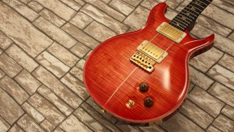 PRS Santana Artist Package Limited Blood Orange 2014 Retro