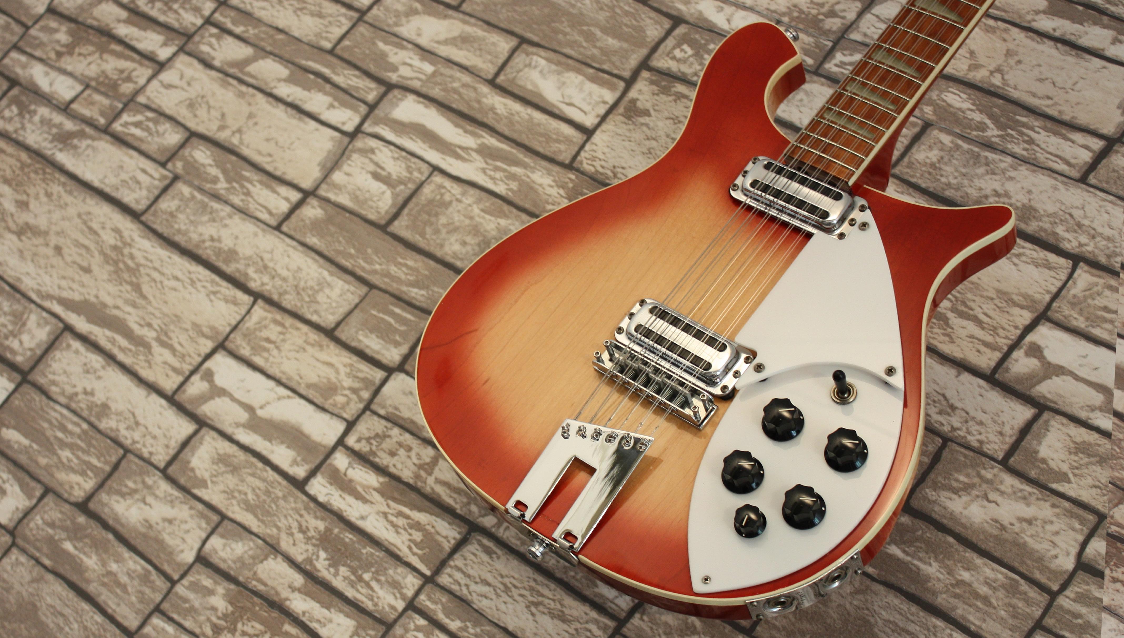 Rickenbacker 620-12 Fireglo 1985 Tom Petty Mod