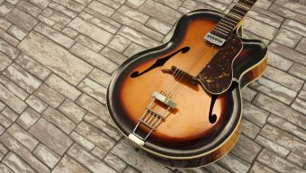 Roger Rossmeisl Junior CA Sunburst 1955 / 1956